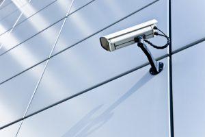 berwachungskamera - Hochhaus - Alarmanlage